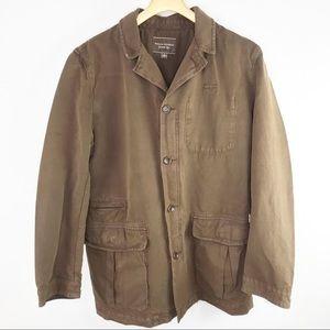 Banana Republic Men's Brown Field Military Jacket